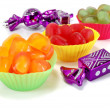 Multi colored marmalade candy — Stock Photo