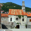 Views of the old city in Budva - Stock Photo