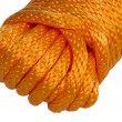 Stock Photo: Hank Orange synthetic rope