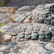 Turtle Rocks in  Petit Jean State Park,  Arkansas — Stock Photo