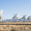 Royalty-Free Stock Photo: VLA (Very Large Array) - a group of radio telescopes in New Mexi