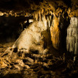 Stock Photo: Stalactites and stalagmites