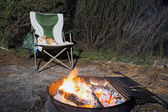 Camping Scene — Stock Photo