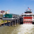 Stock Photo: Tourist boat Natchez on Mississippi River