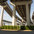 Main highways of New Orleans raised high above ground — Stock Photo #40084949