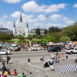 Stock Photo: Saint Louis cathedral at Jackson square in New Orleans