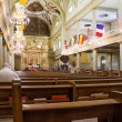 Inside cathedral of St. Louis in New Orleans — Stock fotografie #40085101