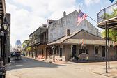 Bourbon street in New Orleans — Stockfoto