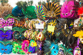 Mask souvenirs in New Orleans — Stock Photo