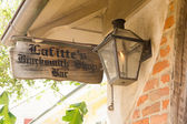Lafittes Blacksmith Shop is the oldest bar in USA — ストック写真