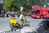 Cycle rickshaw in New Orleans — Zdjęcie stockowe