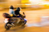 Blurred motion — Stock Photo