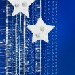 Christmas star decoration — Stock Photo