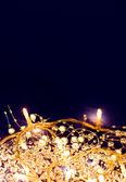 Noel tatil ışıkları — Stok fotoğraf