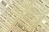 Old newspaper — Stock Photo