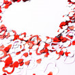 Abstract Valentine background — Stock Photo