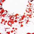 Royalty-Free Stock Photo: Valentine heart background