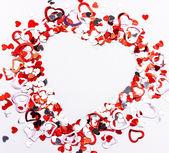 Marco de corazón San Valentín — Foto de Stock