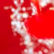 Abstract red heart — Stock Photo #18388355