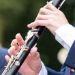 Clarinetist — Stock Photo