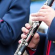 Clarinet player — Stock Photo