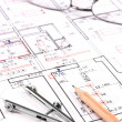 Architect plan — Stock Photo #21669723