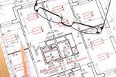 Architecture draw — Stock Photo