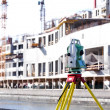 Total station - Stock Photo