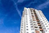Construction of new buildings — Стоковое фото