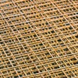 Square steel grid — Stock Photo #22890676