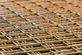 Stacked rebar grids — Stock Photo
