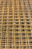 Rebar grid — Stock Photo