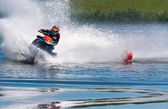 Jet ski water sport — Stock Photo