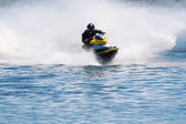 Jet ski racing — Stock Photo