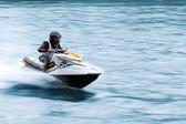 Jet ski in race — Stock Photo