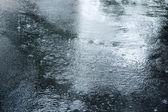 Road and rain — Stock Photo