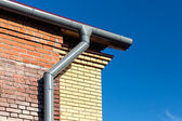Home roof detail — Stock Photo