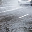 Wet driving conditions — Stock Photo #29041725