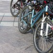 Stock Photo: Bicycles parked