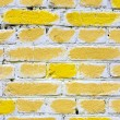 Stock Photo: Yellow brick wall