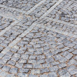 Grey granite pavement — Stock Photo