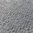 Granite cobblestoned pavement — Stock Photo