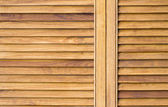 Moderna trä garderob — Stockfoto