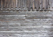 Old gray wood planks — Stock Photo