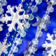 Winter holiday background — Stock Photo