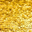Golden blurred background — Stock Photo