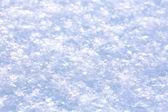 Fresh white snow — Stock Photo
