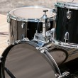 Drum set on stage — Stock Photo #40950219