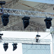 Stock Photo: Stage concert lights