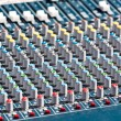 Stock Photo: Studio mixer knobs